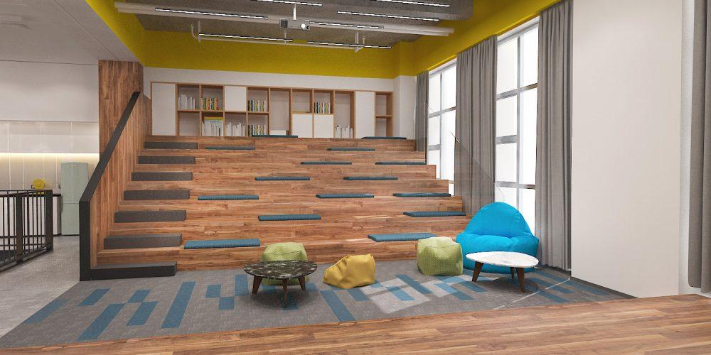 八层音乐体验互动阶梯教室